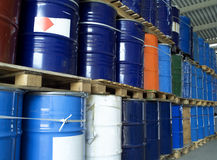 Oil Drums Stock Image