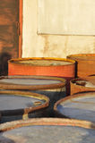 Oil drums Royalty Free Stock Photography