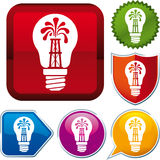 Oil energy icon Royalty Free Stock Image