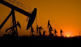 Oil exploration Royalty Free Stock Images