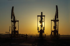 Oil exploration Stock Image