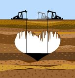 Oil-extracting industry Stock Photo