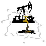 Oil extraction-1 Stock Image