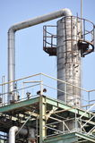 Oil facilities Royalty Free Stock Photo