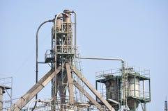 Oil facilities Royalty Free Stock Photos
