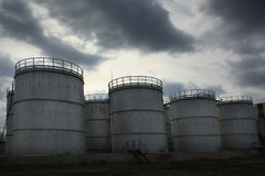 Oil factory Stock Images