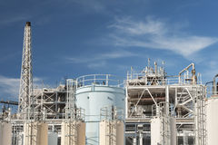 Oil factory Royalty Free Stock Photo