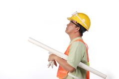 Oil Field Worker Royalty Free Stock Photo