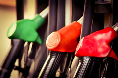Oil filling station Royalty Free Stock Image