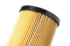 Oil Filter. Close up of oil filter media Stock Image