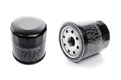 Oil filter Stock Photos