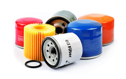 Oil Filter Royalty Free Stock Images