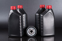 Oil and Filter Royalty Free Stock Photo