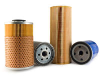 Free Oil Filters Royalty Free Stock Photography - 20508237