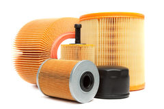 Free Oil Filters Stock Image - 23665851