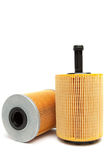 Oil filters Stock Images