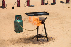 Oil-fired Heat Royalty Free Stock Images