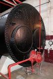 Oil Fired Heating Boiler. Stock Photos