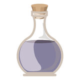 Oil flask of spa center  design Royalty Free Stock Photo