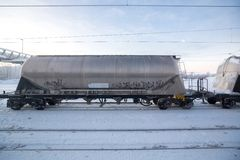 Oil freight logictic Stock Images