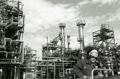 Oil, fuel and industry, power and energy Stock Photos