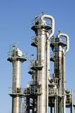 Oil and fuel towers Stock Images