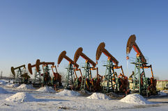Oil and gas Royalty Free Stock Images