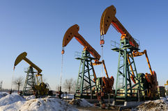 Oil and gas Royalty Free Stock Photo