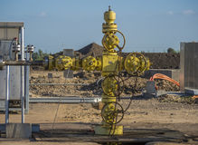 Oil and Gas Construction, Egypt, Delta stock images