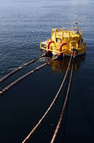 Oil and gas drilling platforms Royalty Free Stock Photo