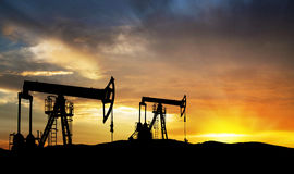 Oil Gas Exploration Equipment Royalty Free Stock Images