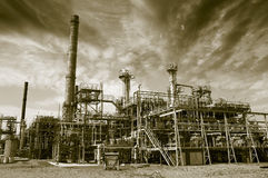 Oil, gas and fuel industries Stock Photo