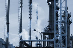 Oil and gas heavy industry Stock Photos