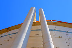 Oil and gas industrial tanks. Stock Images