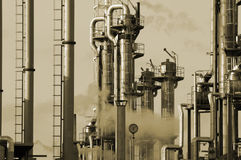 Oil and gas industry Stock Photos