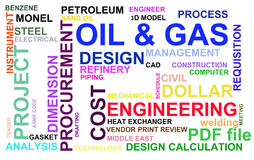 Oil and Gas industry Royalty Free Stock Photos