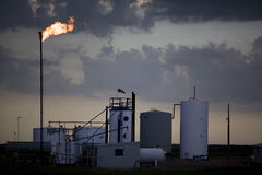 Oil and Gas Industry Royalty Free Stock Photography