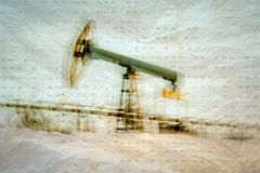 Oil and gas industry background. Stock Photos