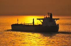 Oil and gas industry - grude oil tanker Stock Photography