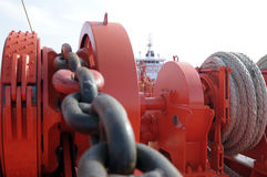 Oil and gas industry - grude oil tanker Royalty Free Stock Photos