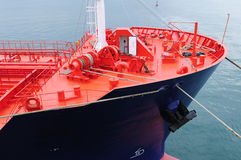 Oil and gas industry - grude oil tanker. Tanker crude oil carrier ship designed for transporting grude oil Stock Photo