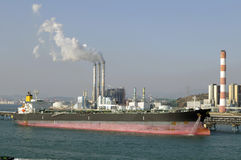 Oil and gas industry - grude oil tanker Royalty Free Stock Photography
