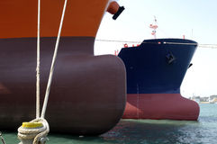 Oil and gas industry - grude oil tanker Stock Photo