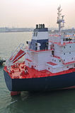 Oil and gas industry - grude oil tanker. Tanker crude oil carrier ship designed for transporting grude oil Stock Photos
