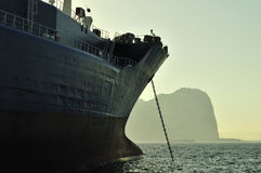 Oil and gas industry - grude oil tanker Royalty Free Stock Images