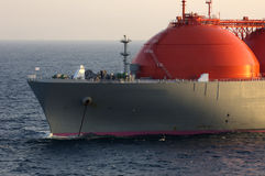 Oil and gas industry - LNG tanker Stock Images