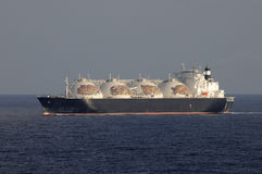 Oil and gas industry - LNG tanker Stock Photo