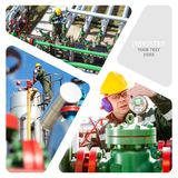Oil And Gas Industry. royalty free stock images