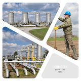 Oil And Gas Industry. Royalty Free Stock Photos