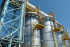 Oil and gas industry ,petrochemical plant.  Stock Photos
